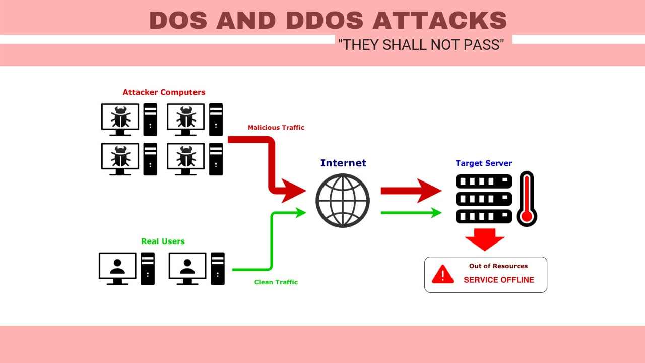 DoS and DDoS Attacks - Shall Not Pass