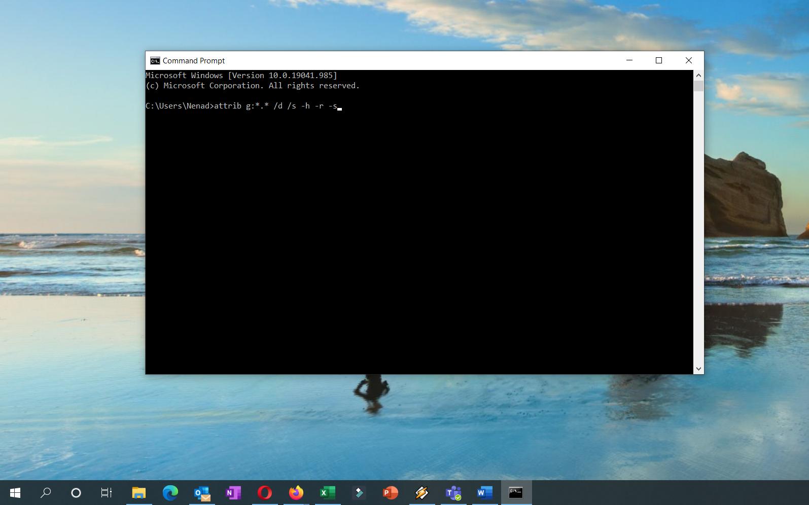 Check for VirusesMalware